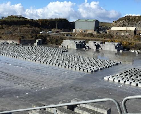O'Reilly Concrete Blockyard