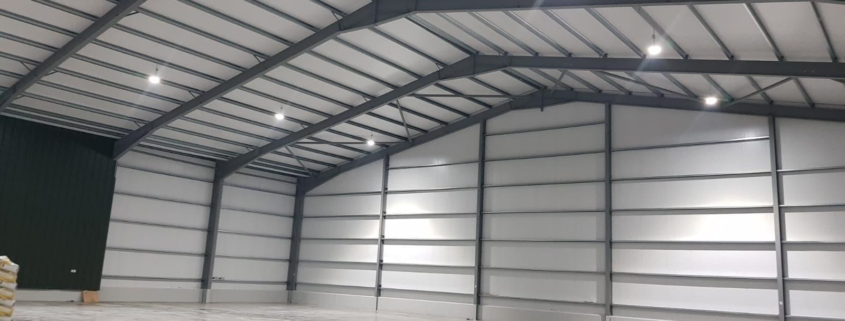 145mm Pre-Stressed Walls for Warehous