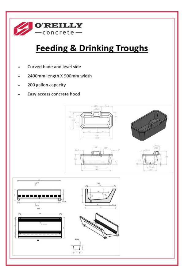 Feeding Drinking Tough Technical Sheet