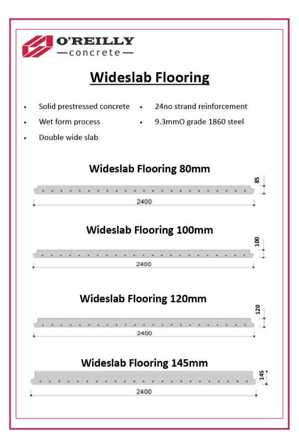Wideslap Flooring Technical Sheet