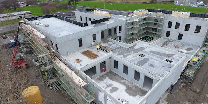 Coolock Primary Care under construction