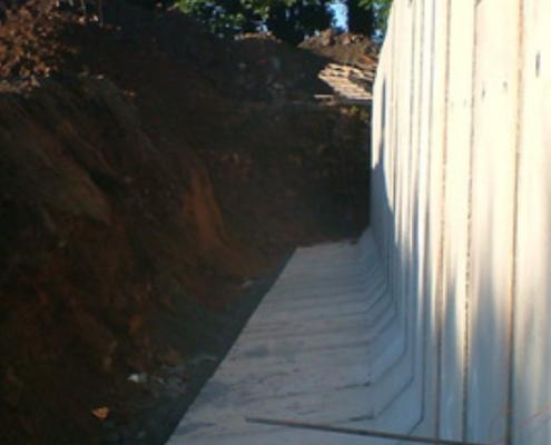 Precast L Walls
