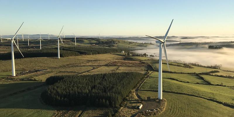 Wind farm Taghart